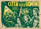 City Without Men - Italian Movie Poster (xs thumbnail)