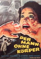 The Man Without a Body - German Movie Poster (xs thumbnail)
