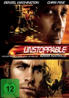 Unstoppable - German DVD cover (xs thumbnail)