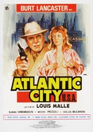 Atlantic City - Spanish Movie Poster (xs thumbnail)