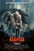 Rampage - Argentinian Movie Poster (xs thumbnail)