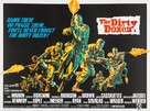 The Dirty Dozen - British Movie Poster (xs thumbnail)