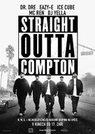 Straight Outta Compton - Czech Movie Poster (xs thumbnail)