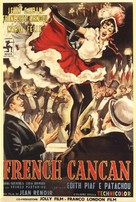 French Cancan - Italian Movie Poster (xs thumbnail)