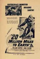 20 Million Miles to Earth - Australian Movie Poster (xs thumbnail)