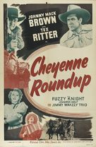 Cheyenne Roundup - Re-release movie poster (xs thumbnail)