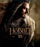The Hobbit: The Desolation of Smaug - Blu-Ray movie cover (xs thumbnail)