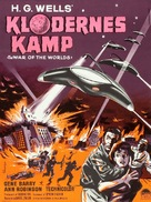 The War of the Worlds - Danish Movie Poster (xs thumbnail)