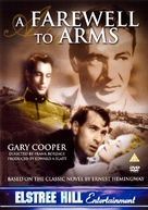 A Farewell to Arms - British DVD cover (xs thumbnail)