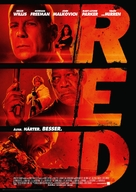 RED - German Movie Poster (xs thumbnail)