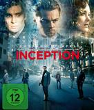 Inception - German Blu-Ray movie cover (xs thumbnail)