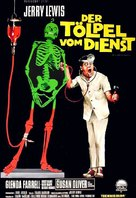 The Disorderly Orderly - German Movie Poster (xs thumbnail)