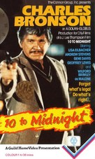 10 to Midnight - VHS movie cover (xs thumbnail)
