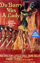 Du Barry Was a Lady - Australian Movie Poster (xs thumbnail)