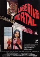 Les liens de sang - Spanish Movie Poster (xs thumbnail)