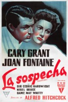 Suspicion - Argentinian Movie Poster (xs thumbnail)