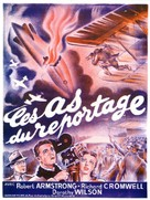 Above the Clouds - French Movie Poster (xs thumbnail)