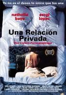 Une liaison pornographique - Mexican Movie Poster (xs thumbnail)
