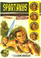 Spartacus - Turkish Movie Poster (xs thumbnail)