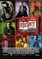 Rent - Theatrical poster (xs thumbnail)