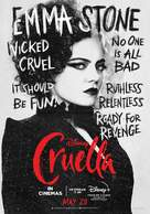 Cruella - British Movie Poster (xs thumbnail)