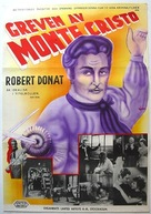 The Count of Monte Cristo - Swedish Movie Poster (xs thumbnail)