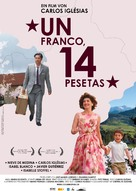 Franco, 14 Pesetas, Un - Swiss poster (xs thumbnail)