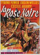The Black Rose - Belgian Movie Poster (xs thumbnail)