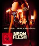 Carne de neón - German Blu-Ray cover (xs thumbnail)