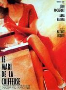 Le mari de la coiffeuse - French Movie Poster (xs thumbnail)