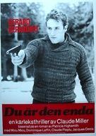 Dites-lui que je l'aime - Swedish Movie Poster (xs thumbnail)