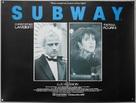 Subway - British Movie Poster (xs thumbnail)