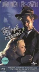 Black Angel - Australian VHS movie cover (xs thumbnail)