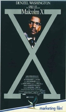Malcolm X - German VHS cover (xs thumbnail)