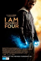 I Am Number Four - Australian Movie Poster (xs thumbnail)