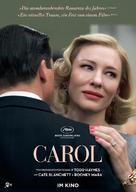 Carol - Swiss Movie Poster (xs thumbnail)