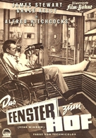 Rear Window - German poster (xs thumbnail)