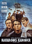 The Guns of Navarone - Danish Movie Poster (xs thumbnail)