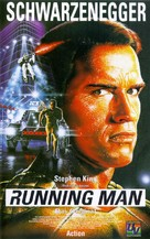 The Running Man - German VHS cover (xs thumbnail)