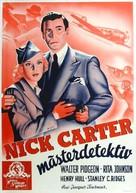 Nick Carter, Master Detective - Swedish Movie Poster (xs thumbnail)