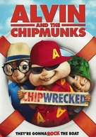 Alvin and the Chipmunks: Chipwrecked - DVD movie cover (xs thumbnail)