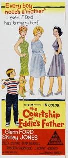 The Courtship of Eddie's Father - Australian Movie Poster (xs thumbnail)