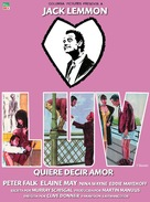 Luv - Spanish Movie Poster (xs thumbnail)