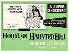 House on Haunted Hill - British Movie Poster (xs thumbnail)