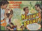 Mutiny on the Bounty - British Movie Poster (xs thumbnail)