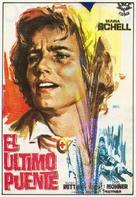 Die letzte Brücke - Spanish Movie Poster (xs thumbnail)