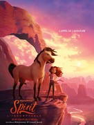 Spirit Untamed - French Movie Poster (xs thumbnail)