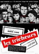 Les tricheurs - French Movie Poster (xs thumbnail)