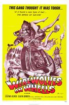 Werewolves on Wheels - Theatrical movie poster (xs thumbnail)