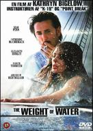 The Weight of Water - Danish DVD movie cover (xs thumbnail)